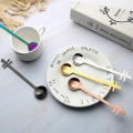 Creative Design Colorful  Stainless Steel Mixing Spoon