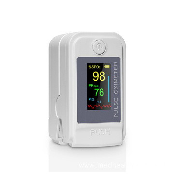 Medical Finger Pulse Oximeter Oxygen Saturation Monitor
