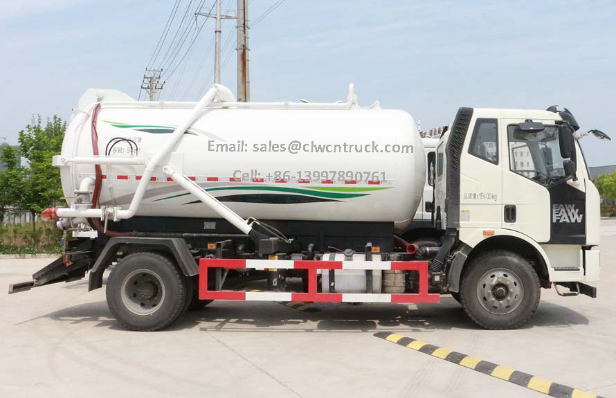 Waste Sewage Truck For Sale