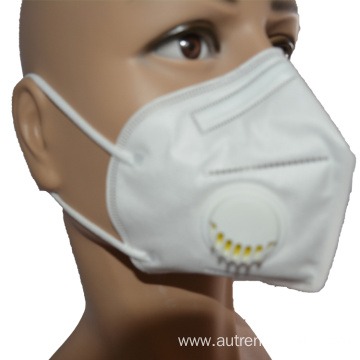 Stocked 3D Disposable Mask KN95 Face Mask with valve