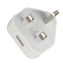 UK USB Travel Charger Adapter