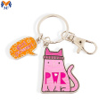 Custom enamel keychain with your design
