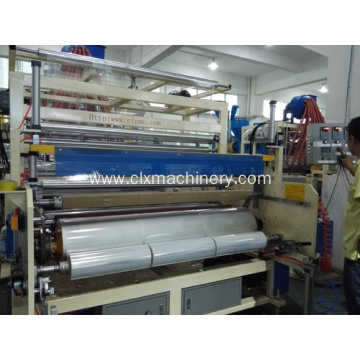 Pag-pack sa Stretch Film Plastic Wrap Machine nga Naghimo Film