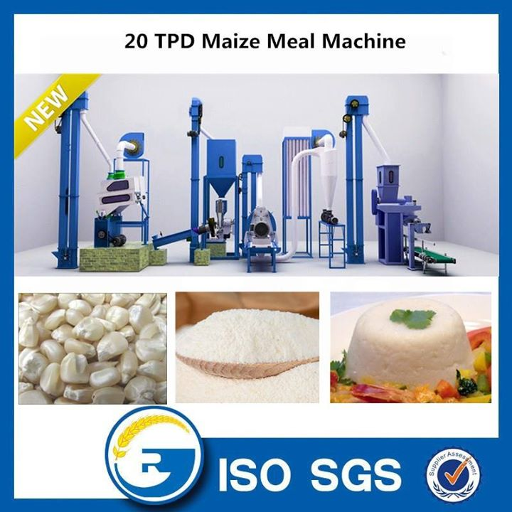 20 TPD maize meal machine