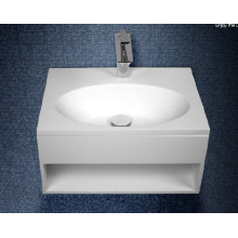 Acrylic stone resin wall-hung washbasin for bathroom
