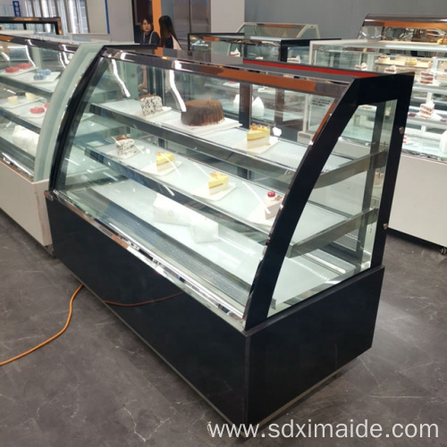Cake display showcase commercial refrigeration equipment