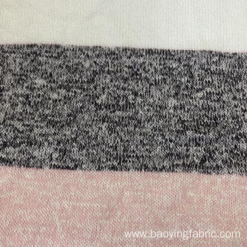Coarse Needle Yarn Dyed Knit Fabric