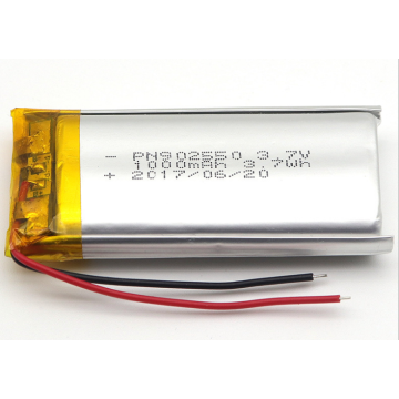 3.7v 1000mAh Lithium Ion Polymer Battery (LP2X5T9)