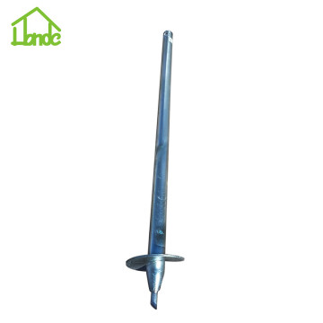 H type galvanized ground screw anchor