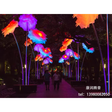 Customized LED Paper Flower Lights