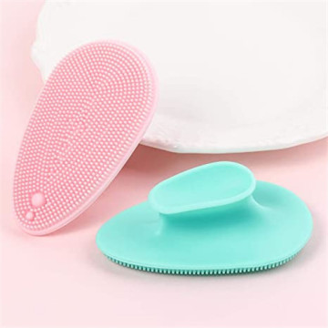 Manual Facial Cleansing Brush Pad Soft Face Cleanser