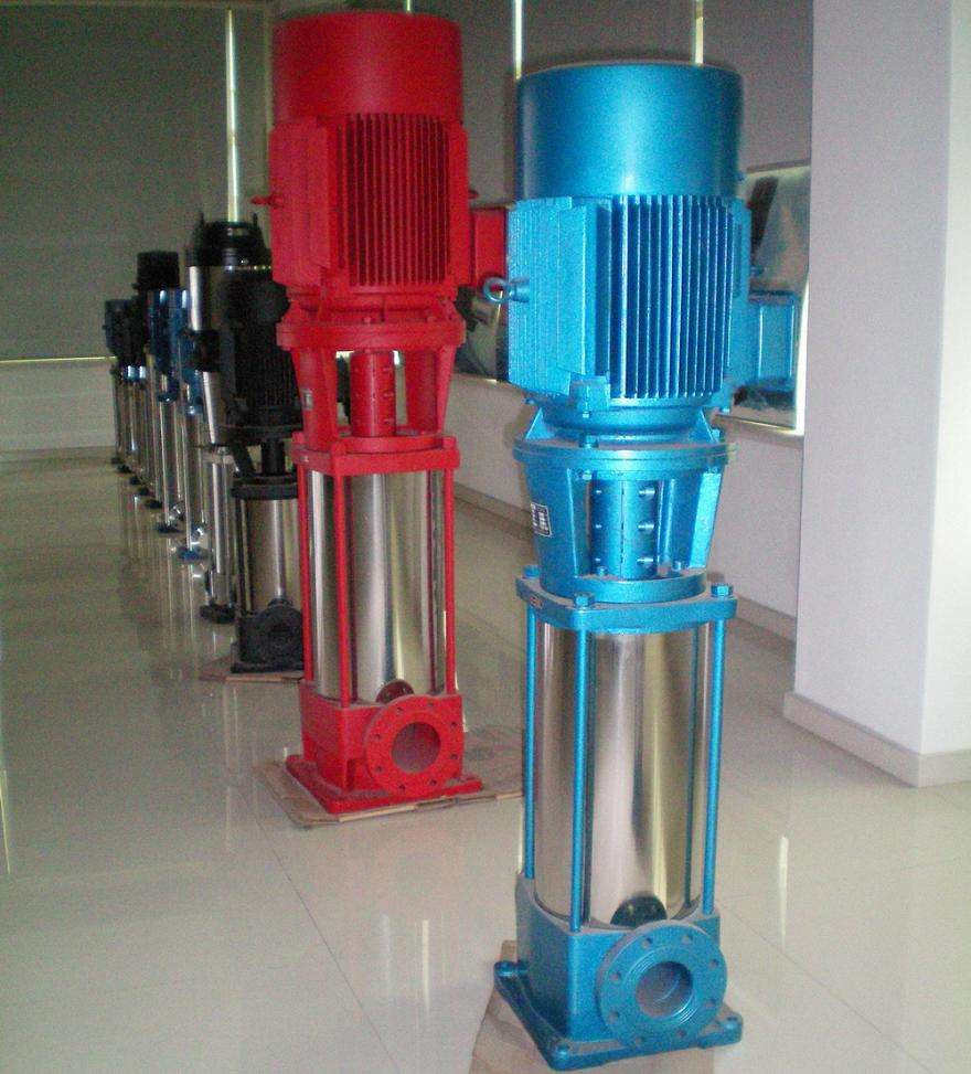 GDL vertical pipeline multistage centrifugal pump