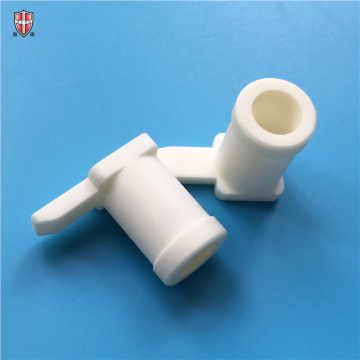 custom 99 99.5 alumina industrial ceramic machinery parts