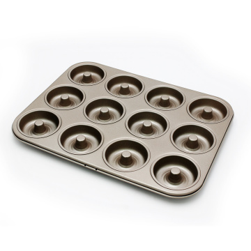 12 Cups Durable Cookie Cake Baking Mold