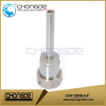 "ER40 3/4"" Collet Chuck With Straight Shank 4.5"""