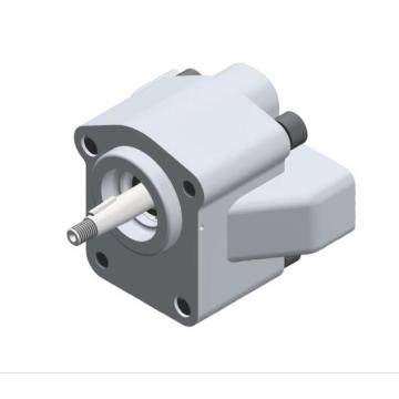Industrial machine external gear pumps