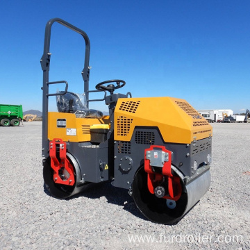 Ride On Double Drum Hydraulic Vibratory Mini Road Roller   FYL-880