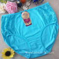 the hottest sale hipster new knickers light green China cotton sexy plus size panty 3xl 5311