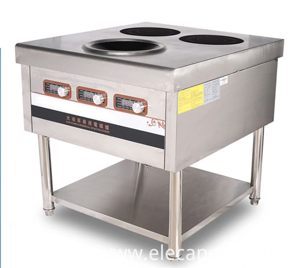 3 Burner Induction Cooker
