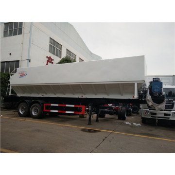 45m3 2 axle Feed Delivery Trailers