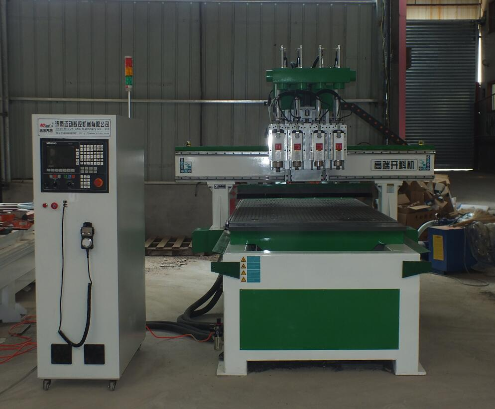 4 spindles CNC Router machine