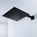 HIDEEP Black Shower Faucet Bathroom Shower Set