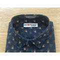 Male 100% cotton oxford long sleeve shirt