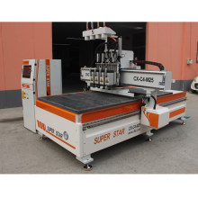 4 heads cnc carving machine from superstar