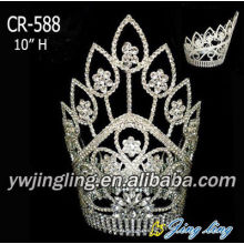 Tall and large wholesale pageant crowns and tiaras