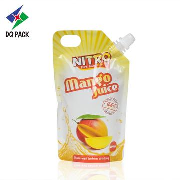 Juice sachet Stand Up Pouch Doypack With Spout