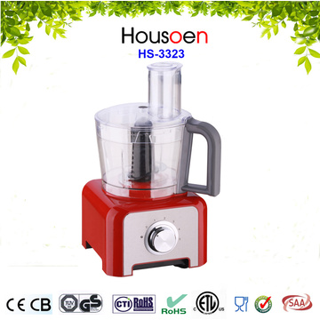 800W food processor with big chopping bowl