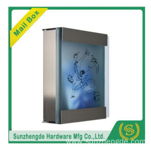 SMB-071SS Hot Selling Galvanized Steel Parcel Apartment Mailbox