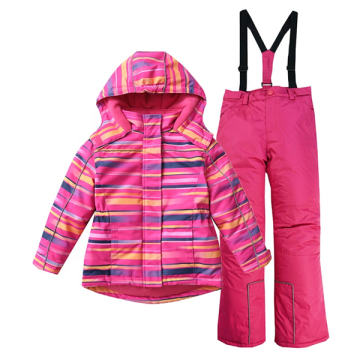 Girls Warm Waterproof Plus Ski Coat