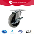 Braked TPR Light Duty Industrial Caster