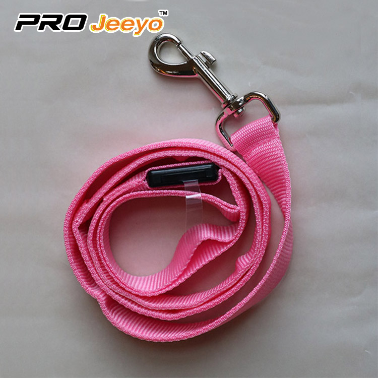 Safety Reflective Pink Pets LeashesSVP-ZD002-1
