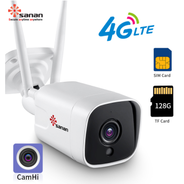 Bullet Camera Housing 5MP 4G Wireless CCTV Camera