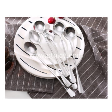 Stainless Steel Spoon Household Tableware Long Spoon