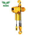 Small electric pulley chain hoist equipment wide use