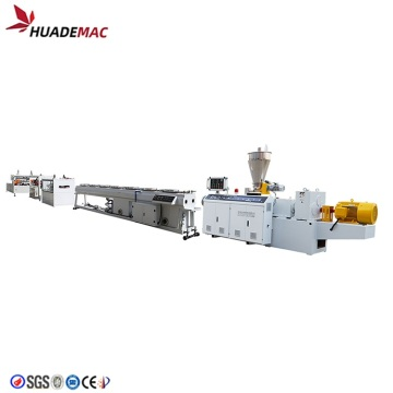 Double Pipe Production Extruder Making Machine