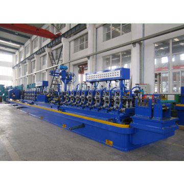 Welding pipe mill line