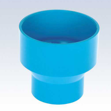Upvc Jis K-6739 Drainage Reducing Socket Blue Color