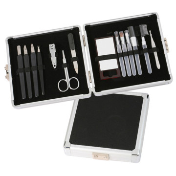 14pcs Pedicure Manicure Set with Mirror for Travel