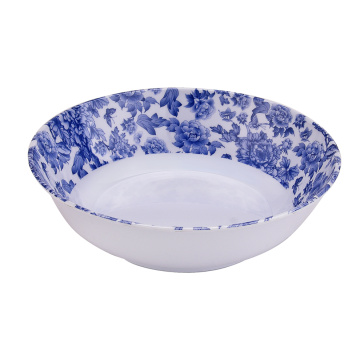 "6"" Melamine Shallow Bowls Set of 6"