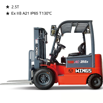 Explosion-proof Battery Forklift IIB 2.5tons