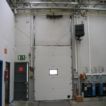 Automatic high speed industry sectional door