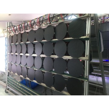 P4 circular led display LED screen