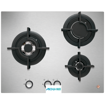 Gas Hob 3 Burners Airlux Built-in