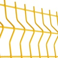 3d Curved Design 4x4 welded wire mesh fence