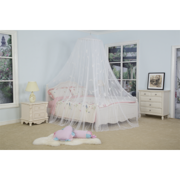 New Product Feather Decor Mosquito Net