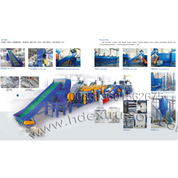 PP PE Plastic Film Washing Machine Line